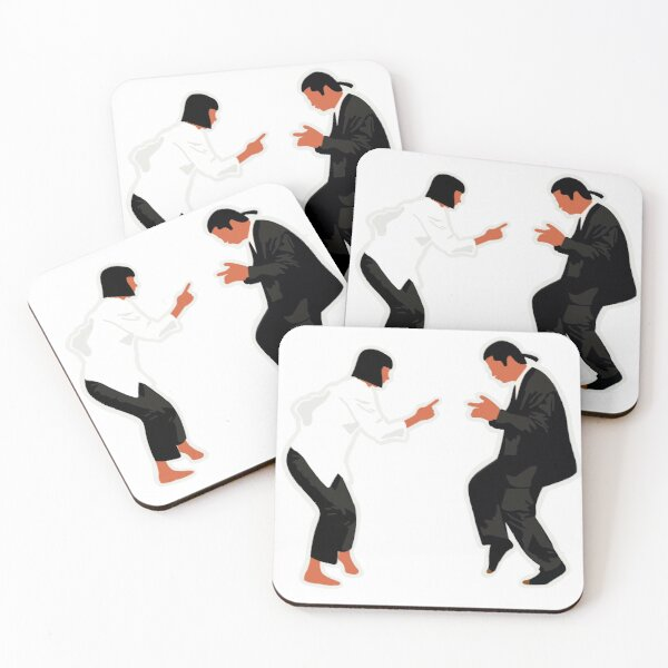Vincent and Mia Coasters (Set of 4)