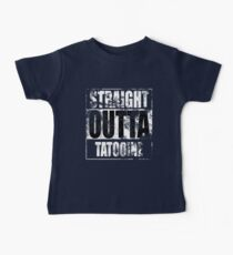 Straight OUTTA Tatooine - Star Wars - distressed Baby Tee
