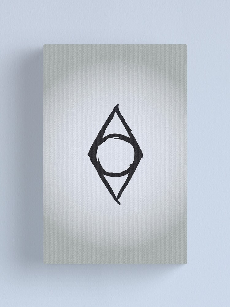 Alternate view of Thieves Guild Logo Canvas Print