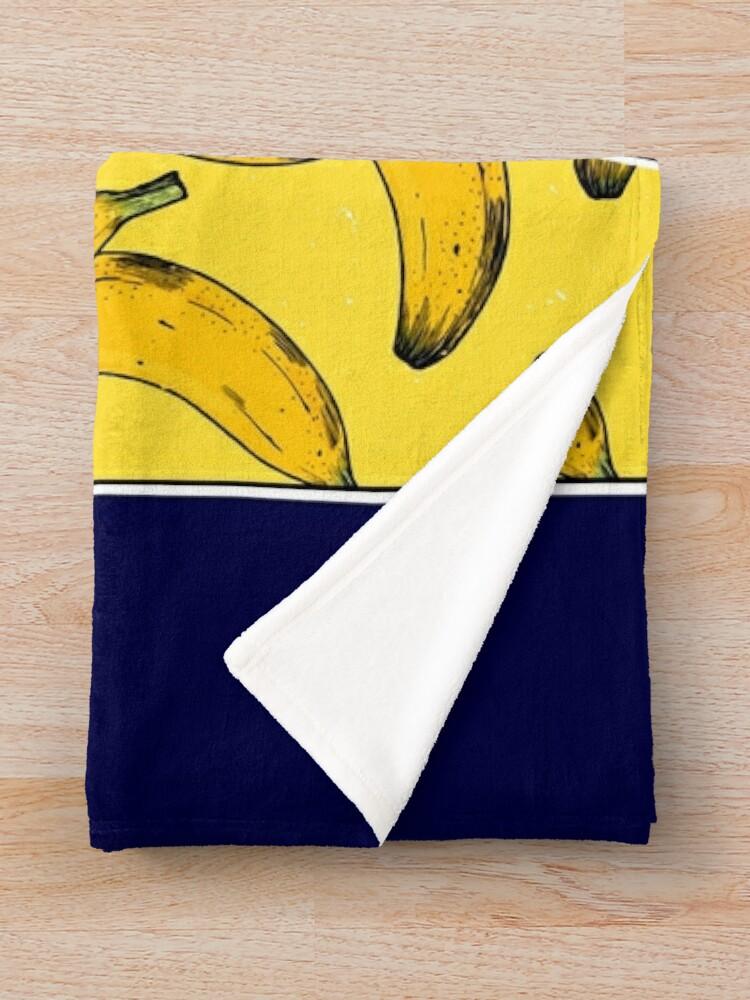 Alternate view of Banana Cream Throw Blanket