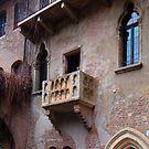 The Balcony Of Juliet In Verona by Al Bourassa