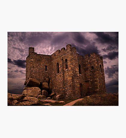 Carn Brae Castle Photographic Print