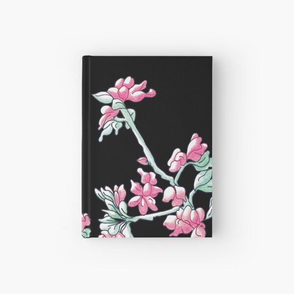 Pink Cherry Blossoms  Hardcover Journal