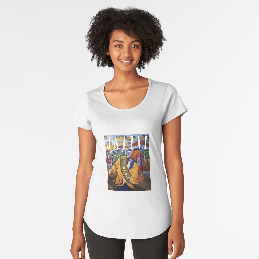 """JAZZIZ """"Redemption"""" Premium Scoop T-Shirt"""