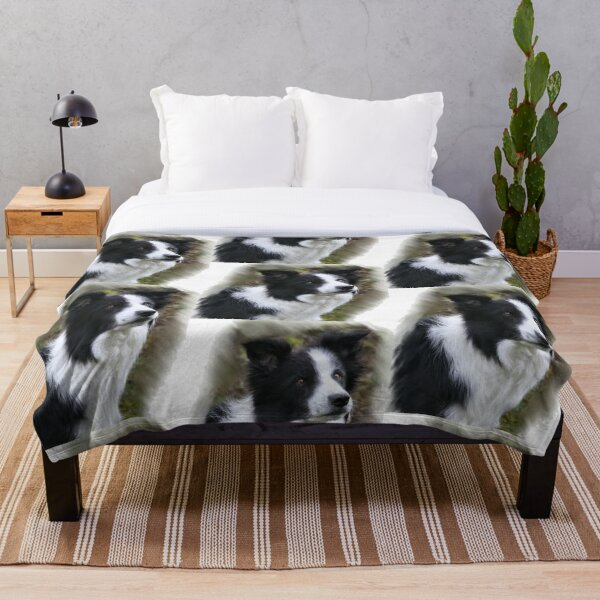 Border Collie Lover s Gifts Throw Blanket