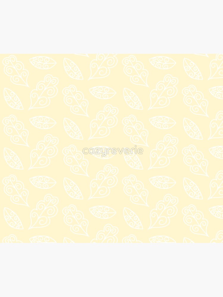 Wonderland Leaves | Neutral Colors by cozyreverie