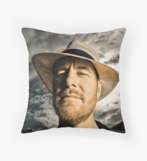 ...Fred Smith, Musician... Throw Pillow