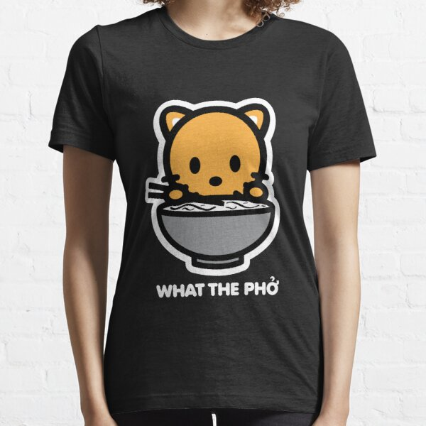 Cat What The Pho Essential T-Shirt