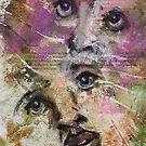 Faces, Bernard Lacoque-15 by ArtLacoque