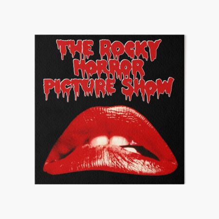 The Rocky Horror Picture Show Art Board Print
