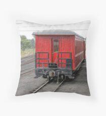 Cumbres & Toltec Passenger Car Throw Pillow