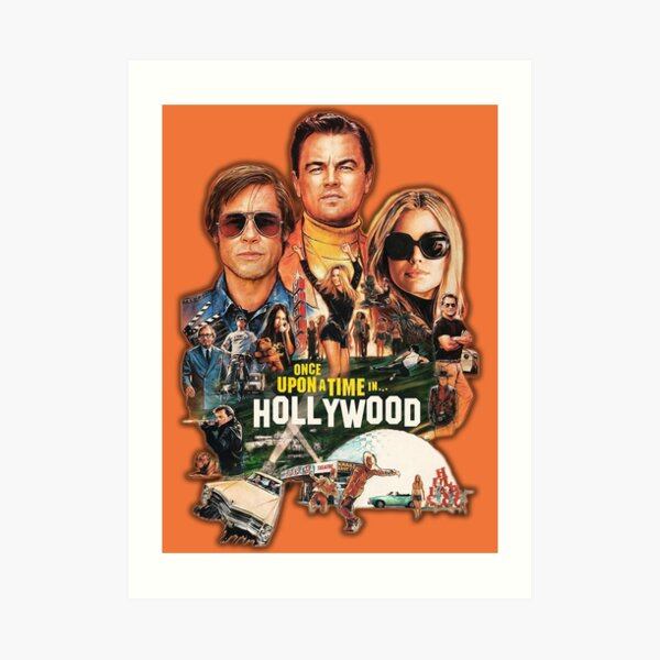 Once upon a time in HOLLYWOOD | Tarantino Art Print