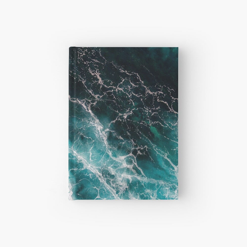 Ocean Abstracts Hardcover Journal