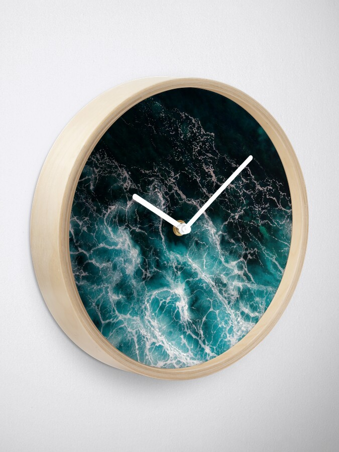 Alternate view of Ocean Abstracts Clock