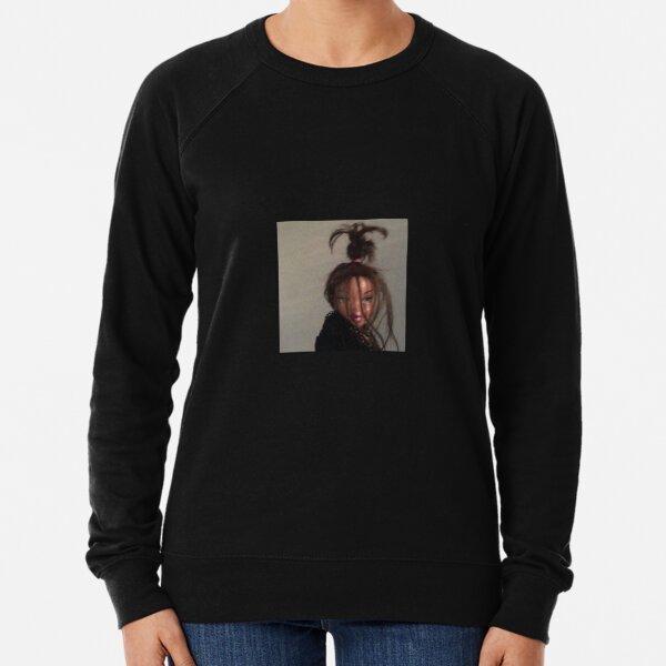 Messy bun Bratz doll Lightweight Sweatshirt