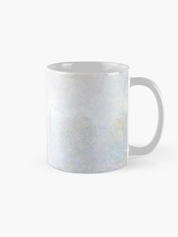 Alternate view of Morning Haze by Claude Monet Mug
