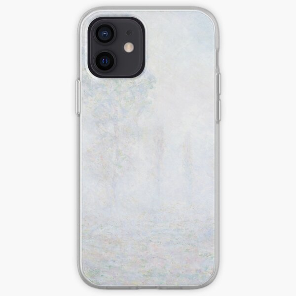 Morning Haze by Claude Monet iPhone Soft Case