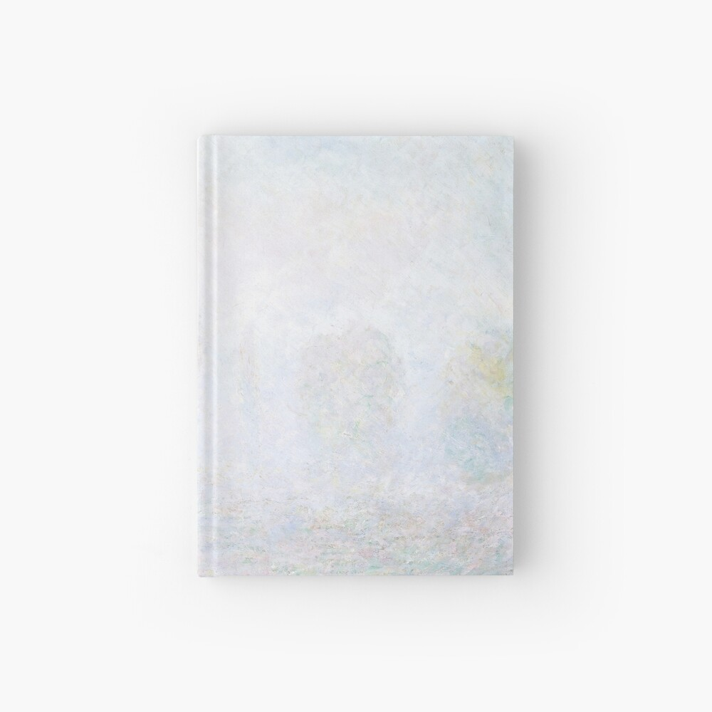Morning Haze by Claude Monet Hardcover Journal