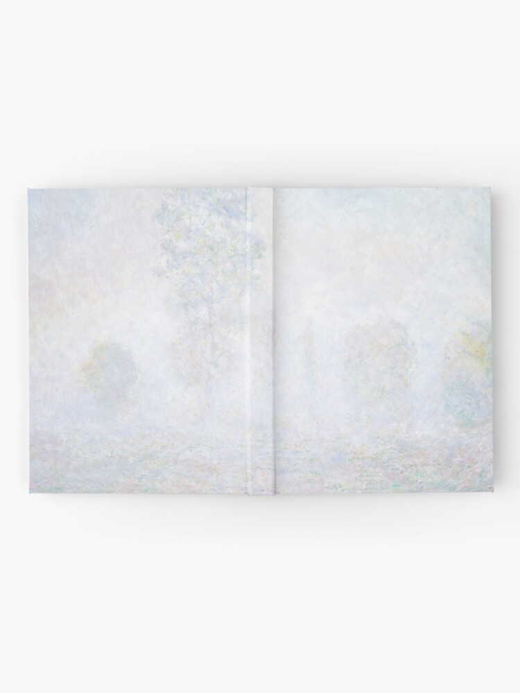 Alternate view of Morning Haze by Claude Monet Hardcover Journal