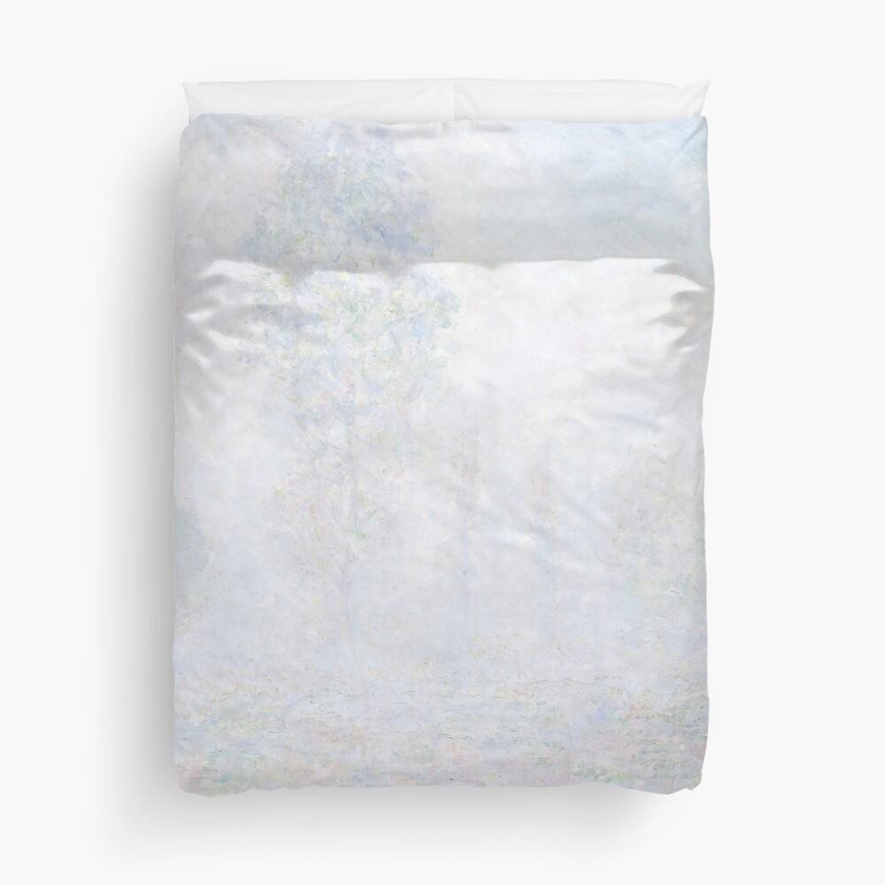 Morning Haze by Claude Monet Duvet Cover