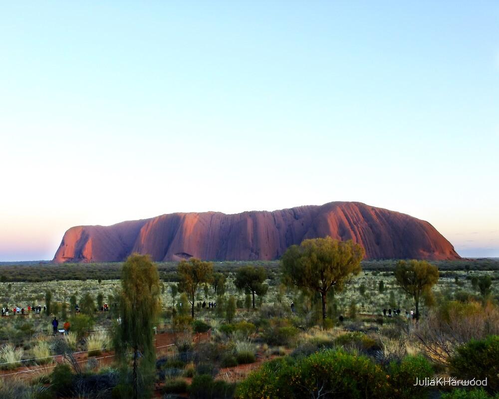 Moods of Uluru 2 by Julia Harwood
