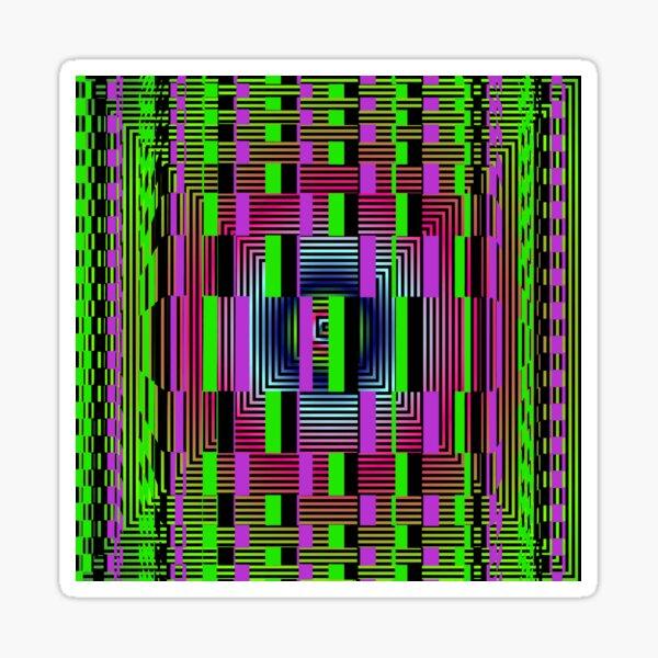 #OpArt, #visual #illusion, #VisualArt, opticalart, opticalillusion, opticalillusionart, opticalartillusion, psyhodelic, psichodelic, psyhodelicart Sticker