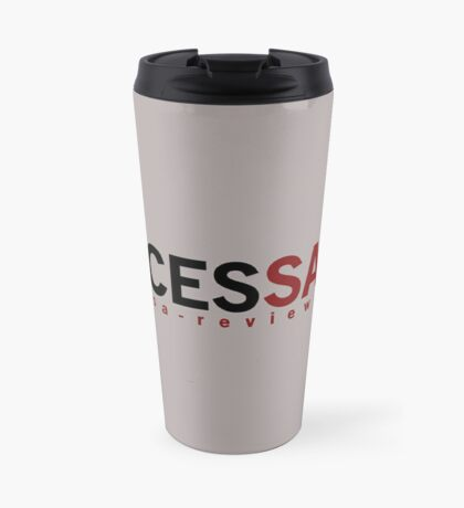NECESSARY - San Antonio Review  Travel Mug