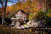 Autumn Morning in West Virginia by Jeanne Sheridan