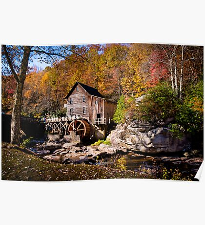Autumn Morning in West Virginia Poster