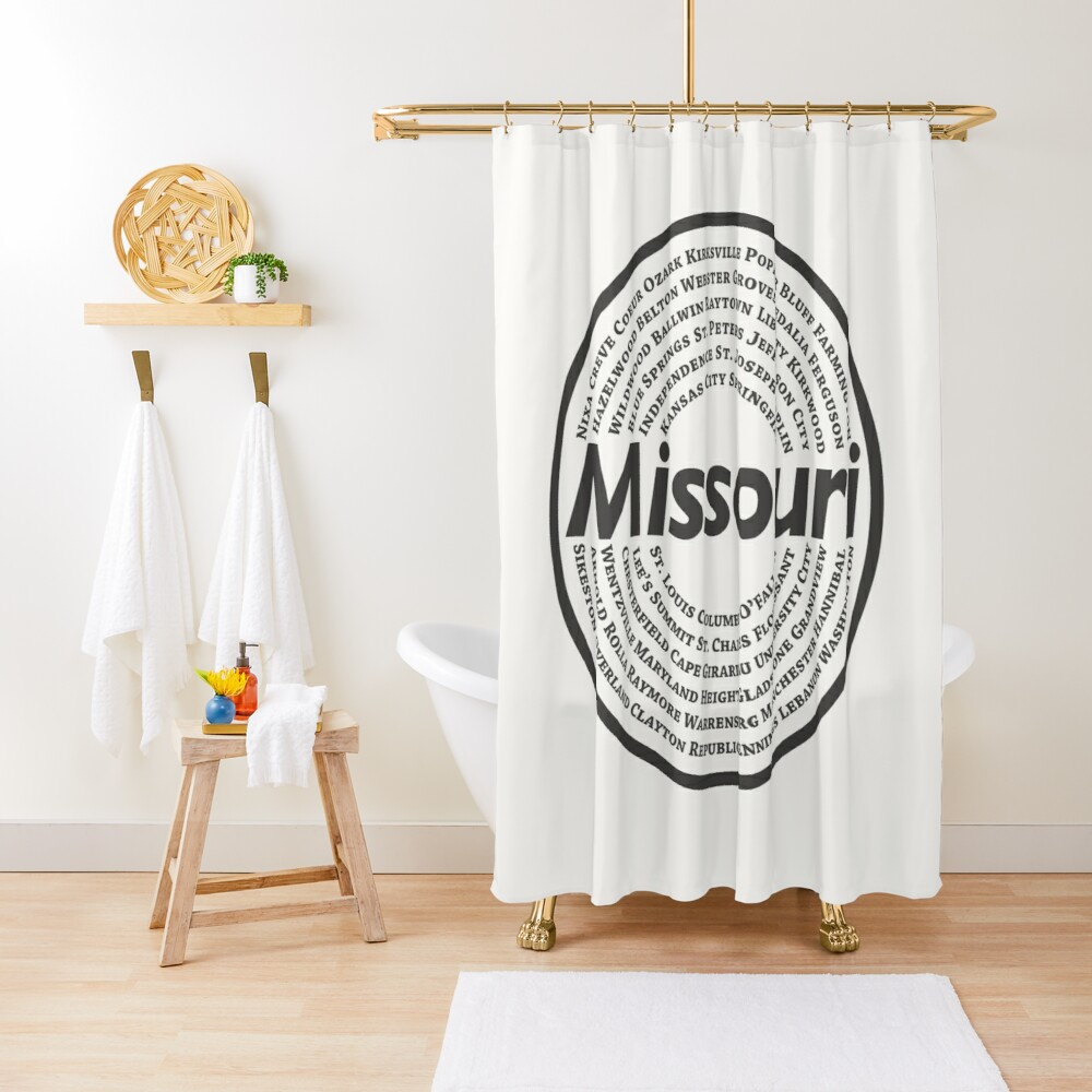 Missouri Shower Curtain