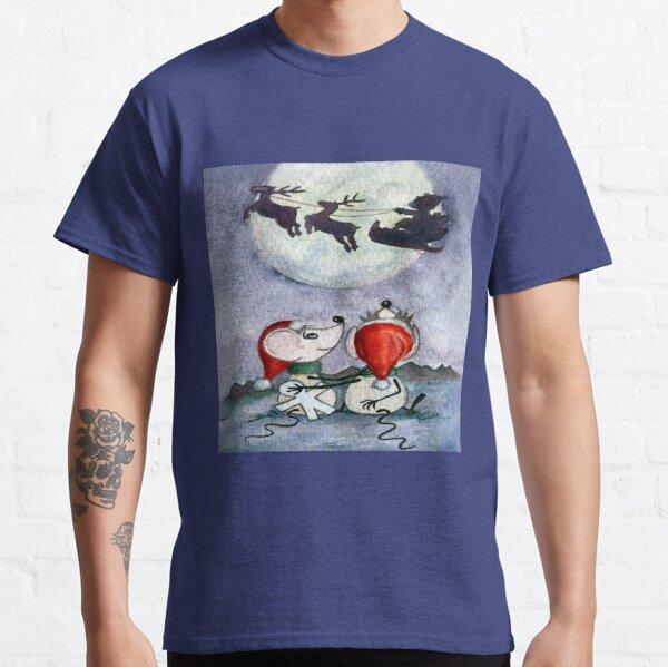 """""""Inocente Inocente"""", Feliz Navidad Camiseta clásica"""