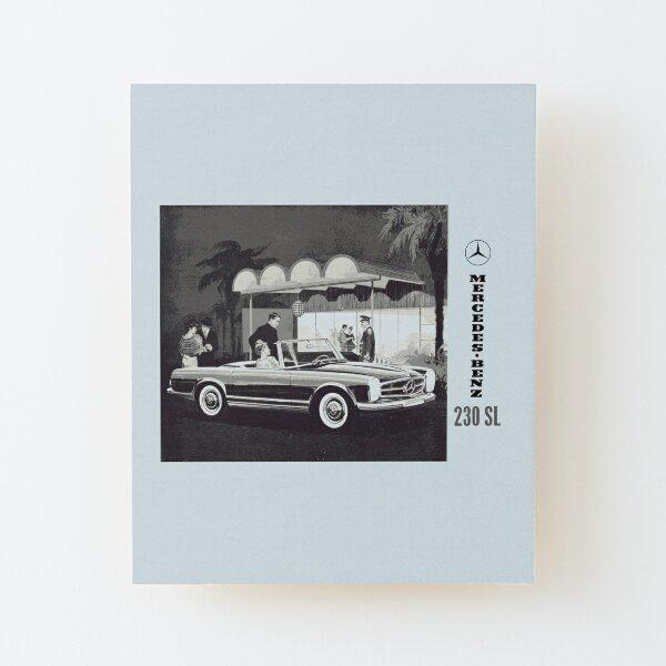 Póster Decoración de Pared Cartel Motorisierung Coches Mercedes Benz 300sl