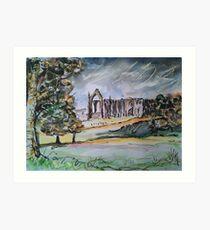 'Bolton Abbey, Wharfedale' Art Print