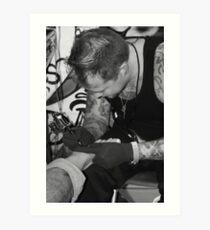 tattoo convention 6 Art Print