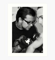 tattoo convention 8 Art Print