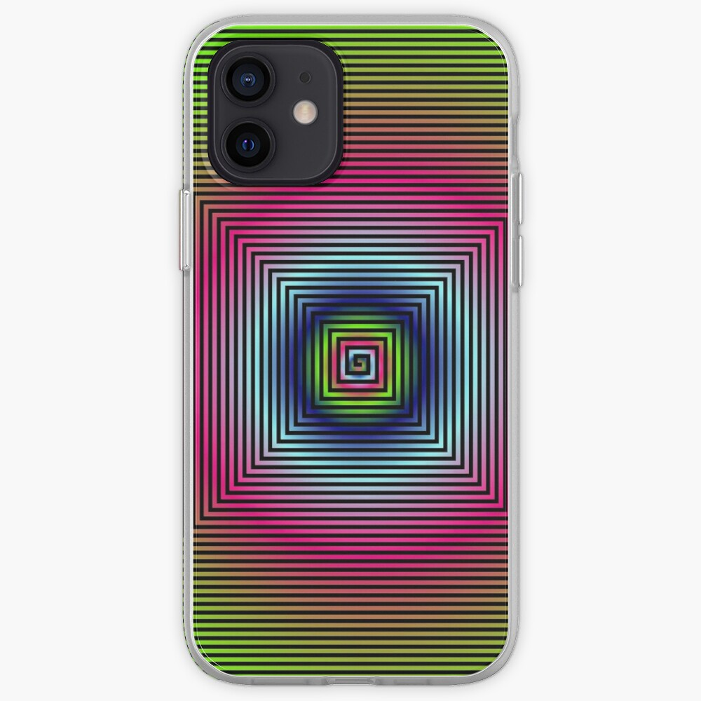 #OpArt, #visual #illusion, #VisualArt, opticalart, opticalillusion, opticalillusionart, opticalartillusion, psyhodelic, psichodelic, psyhodelicart iPhone Case & Cover