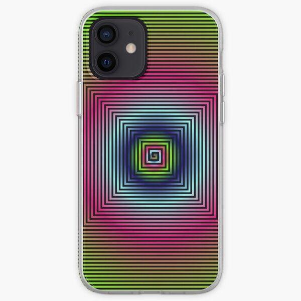 #OpArt, #visual #illusion, #VisualArt, opticalart, opticalillusion, opticalillusionart, opticalartillusion, psyhodelic, psichodelic, psyhodelicart iPhone Soft Case