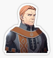 Gilbert - Fire Emblem Three Houses Sticker