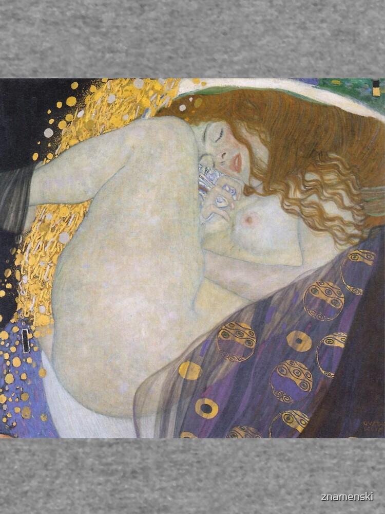 #Danae by Gustave Klimt #GustaveKlimt Густав Климт - #Даная, 1907г #ГуставКлимт by znamenski