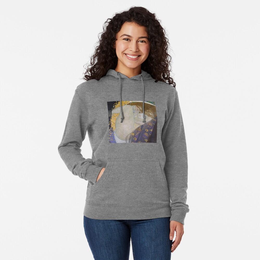 #Danae by Gustave Klimt #GustaveKlimt Густав Климт - #Даная, 1907г #ГуставКлимт Lightweight Hoodie