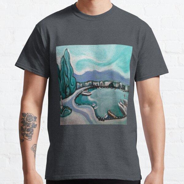 """Puente Mont Blanc"", Ginebra, Suiza Camiseta clásica"