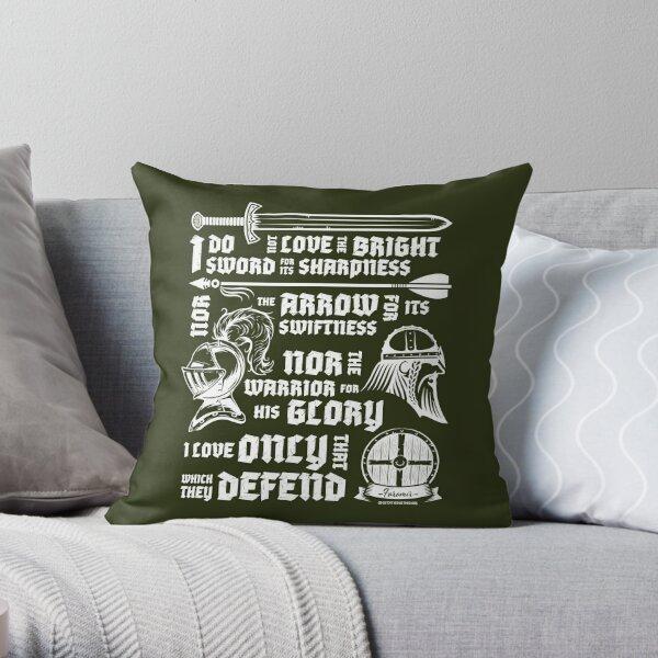 Faramir's Oath Throw Pillow