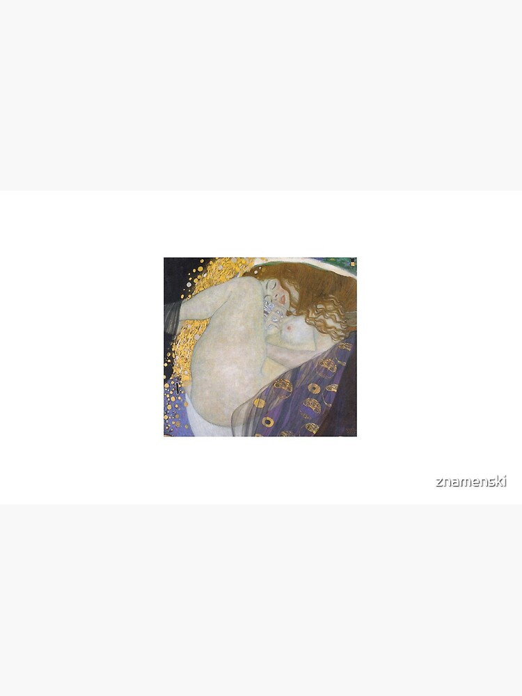 #Danae by Gustav Klimt #GustaveKlimt Густав Климт - #Даная, 1907г #ГуставКлимт by znamenski