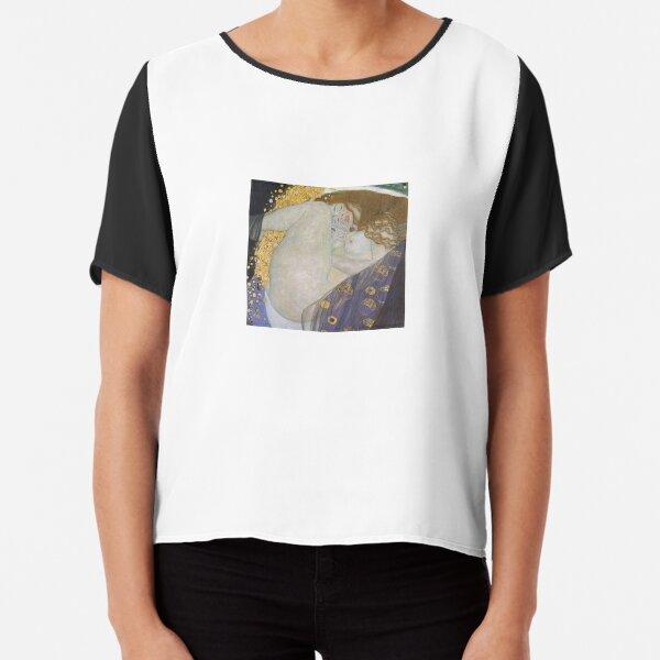 Jewish,  #Danae by Gustav Klimt #GustaveKlimt Густав Климт - #Даная, 1907г #ГуставКлимт Chiffon Top