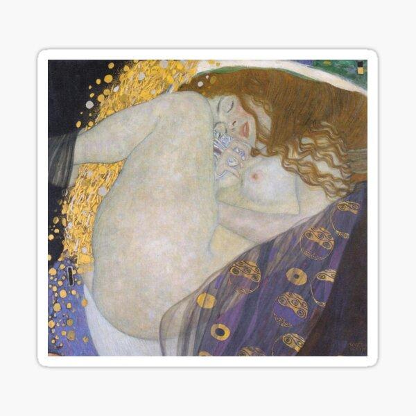 #Danae by Gustav Klimt #GustaveKlimt Густав Климт - #Даная, 1907г #ГуставКлимт Sticker