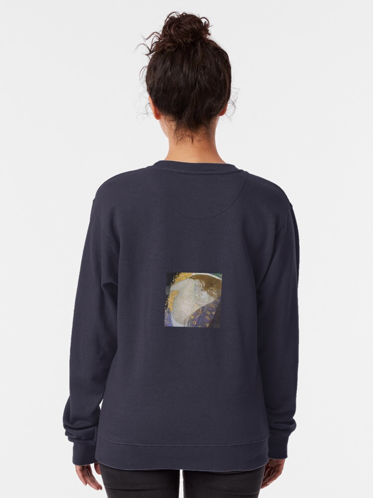Alternate view of #Danae by Gustav Klimt #GustaveKlimt Густав Климт - #Даная, 1907г #ГуставКлимт Pullover Sweatshirt