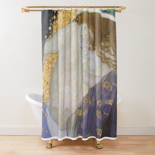 #Danae by Gustav Klimt #GustaveKlimt Густав Климт - #Даная, 1907г #ГуставКлимт Shower Curtain