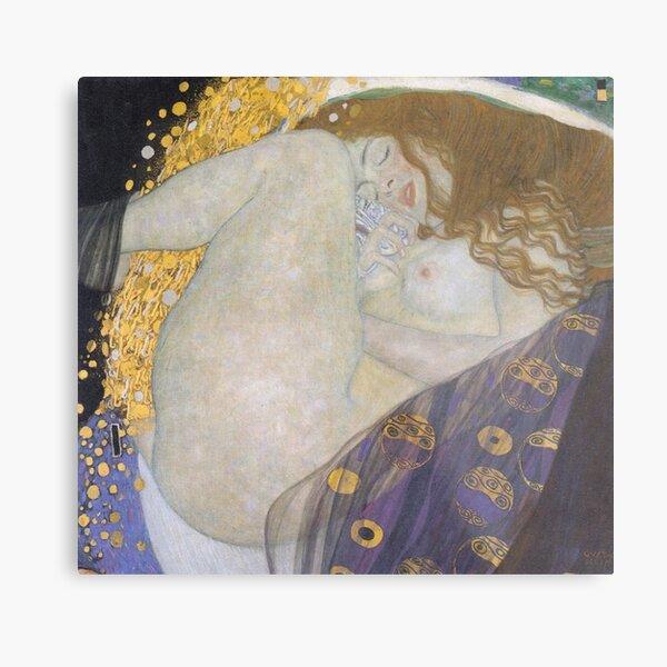 #Danae by Gustav Klimt #GustaveKlimt Густав Климт - #Даная, 1907г #ГуставКлимт Metal Print
