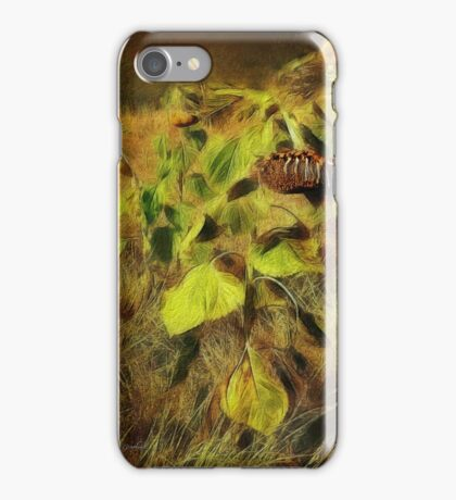 Time is the Enemy (Art & Poetry) iPhone Case/Skin