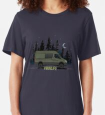 Camiseta ajustada #Vanlife